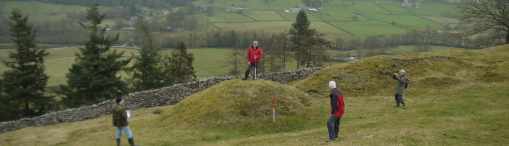 Recording archaeological features in the landscape