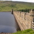 Scar House Reservoir Dam