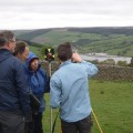 Learning to use a total station