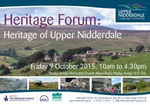 Heritage Forum Flyer