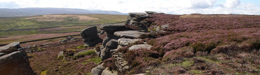 Millstone grit crags