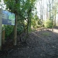 Information panel at Fishpond Wood