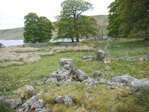 Ruinous remains of Lodge